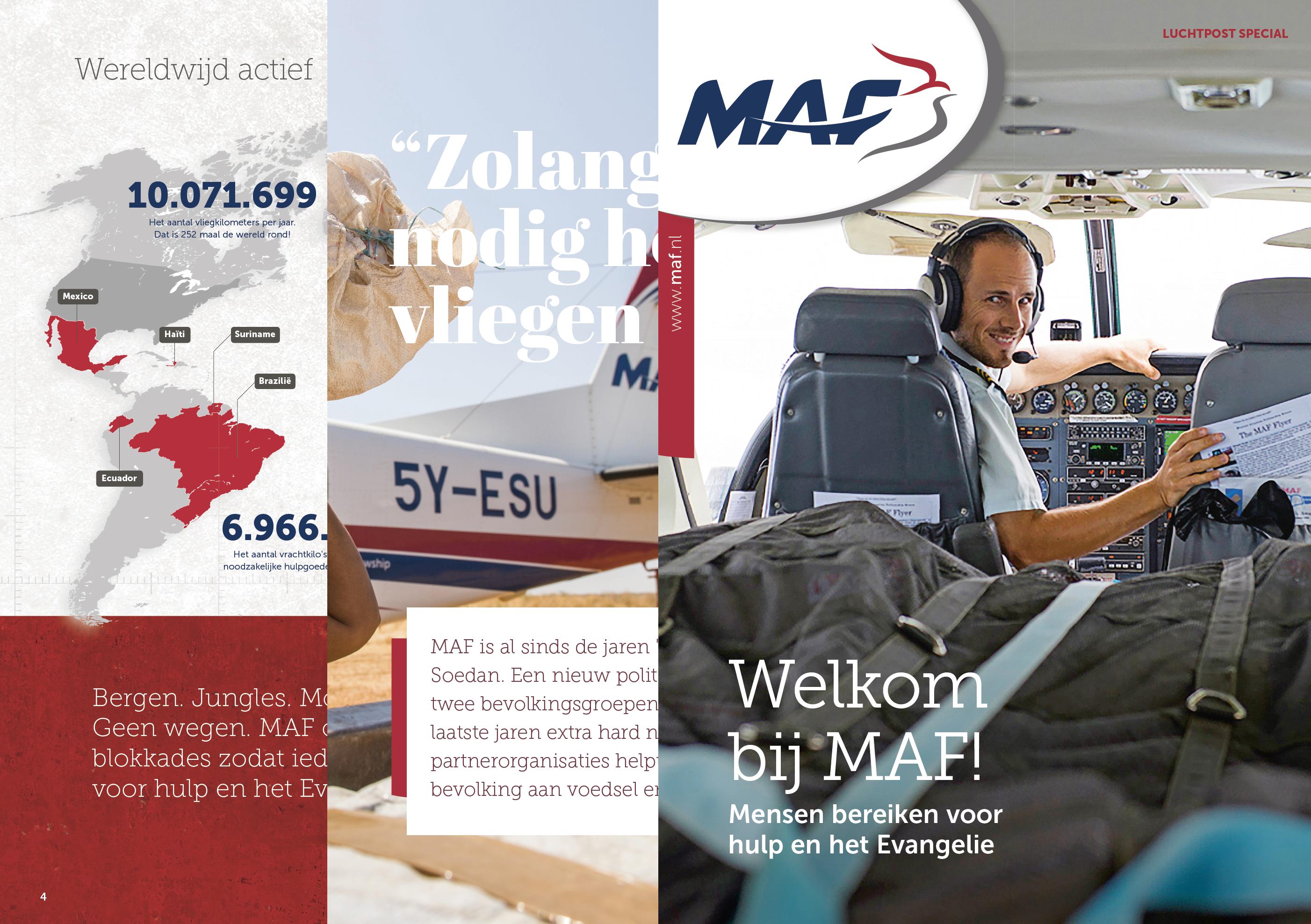 MAF Nederland: Luchtpost Special