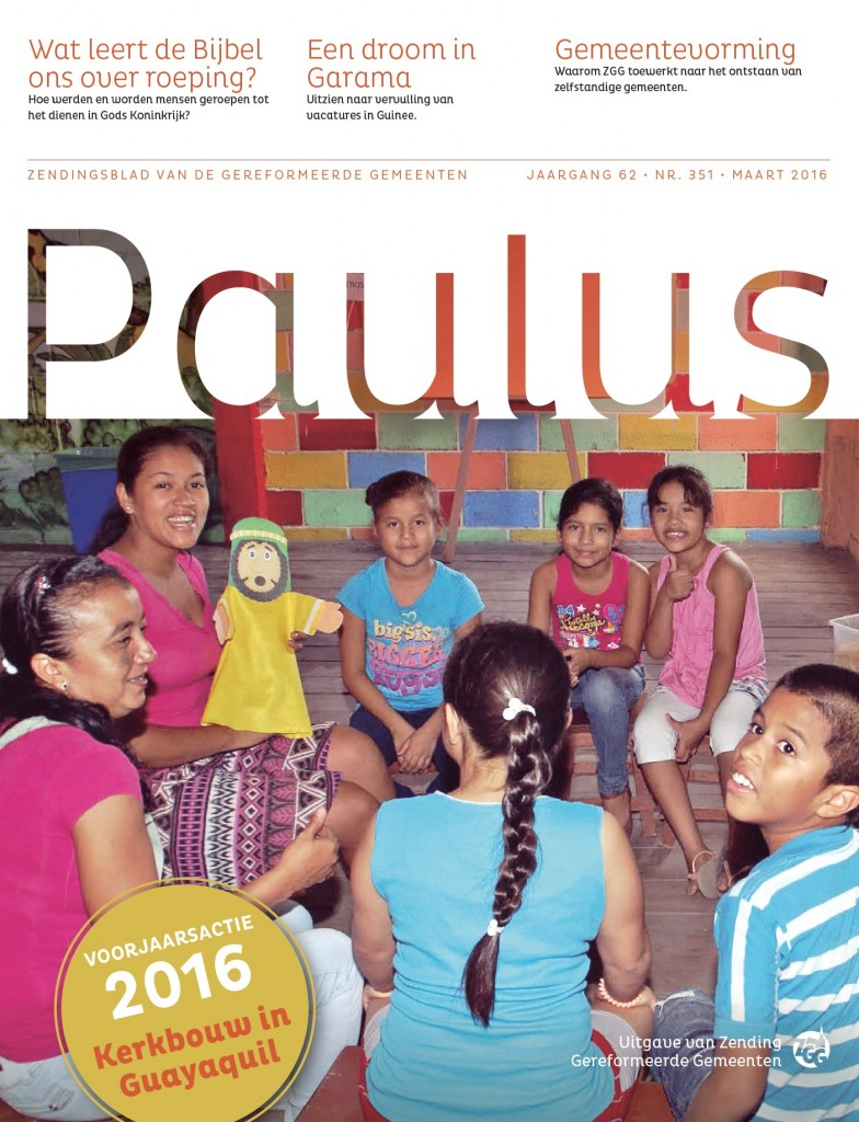 Cover Paulus Maart
