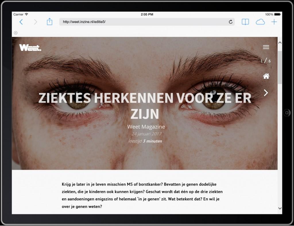 Maak zelf een digitaal magazine met InZine van BladenMakers