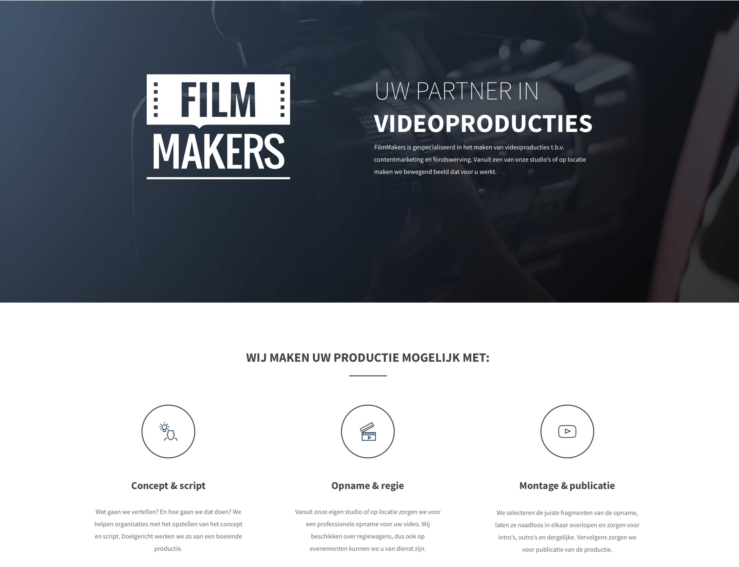FilmMakers van start